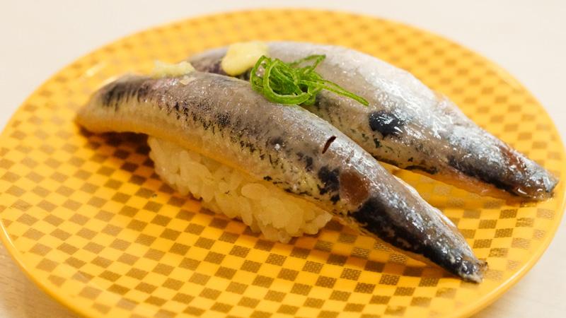 いわしのお寿司の写真