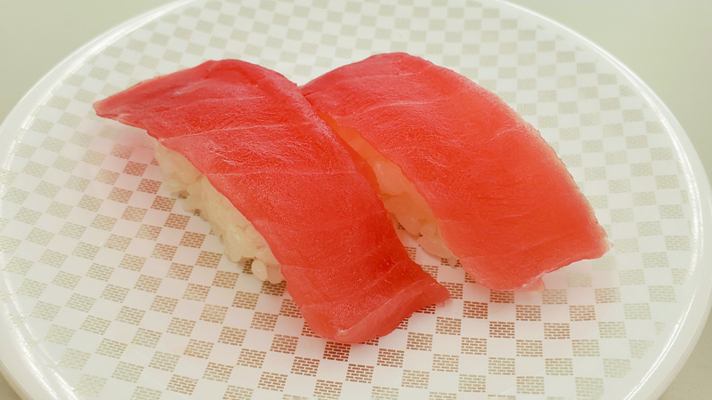 まぐろのお寿司の写真