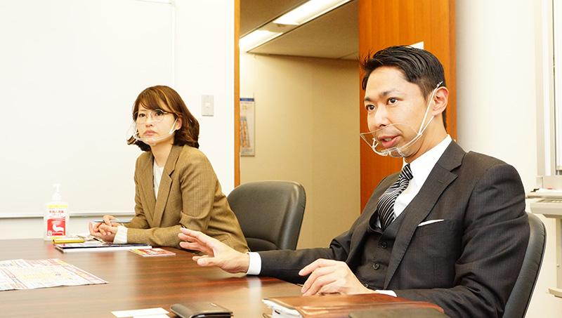 JapanマーケティングWeek担当の大久保さんと神田さんの写真