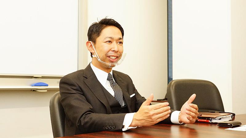 大久保さんのインタビュー写真