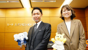 JapanマーケティングWeek春担当大久保さんと神田さんの写真
